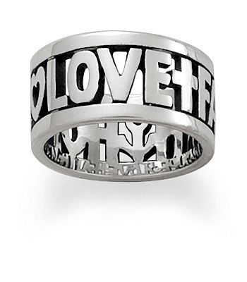 James Avery Faith Hope And Love Ring Its Not Hou Its Me