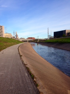 Exploring the Brays Bayou Trail