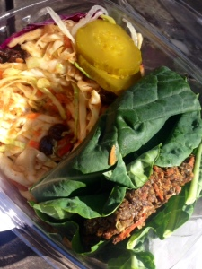 Pat Greer's kitchen, Bar-b-que burger, vegan, veggie burger, vegetarian
