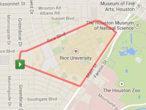 Running The Rice University Trail Run For Wellness 5k It S Not