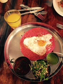 Pondicheri Houston Beet Uttapam