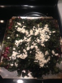 baked swiss chard with feta