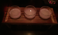 TY KU COCONUT NIGORI SAKE (AS A SAKE FLIGHT)