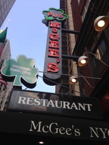 McGee's aka the How I Met Your Mother bar.
