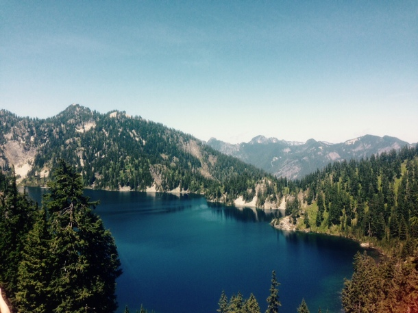 Snow Lake trail, hiking washington seattle