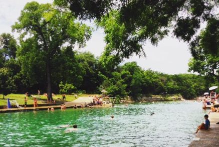 Barton Springs in Austin, Texas.