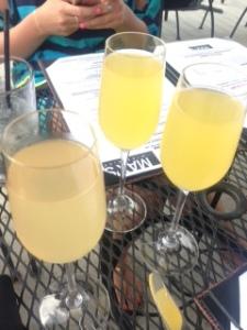 Mimosas @ Max's WIne Dive