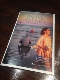 """""""Small Mouth Sounds"""": A play with fewsounds"""