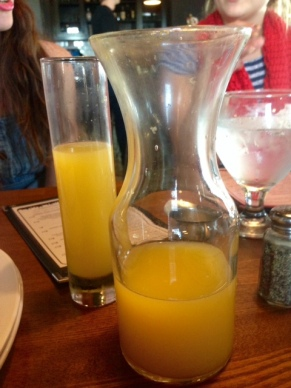 Urban Eats Brunch Mimosa