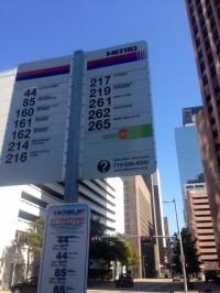 Metro Bus Houston