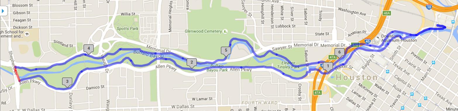Bayous In Houston Map.Bike Brunch In Houston For Valentine S Day It S Not Hou It S Me
