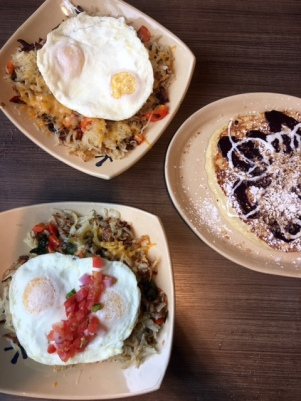 Snooze AM Eatery Brunch Spread