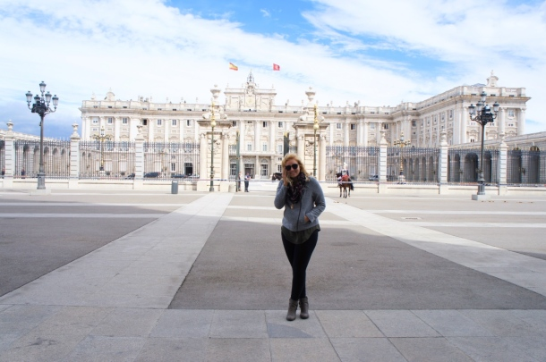 Palace life.