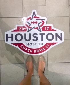 Houston Super Bowl Host Committee Volunteer