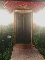 Doors that belonged to Louis Pasteur.