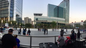 Get on a Roll at Discovery Green's The Rink
