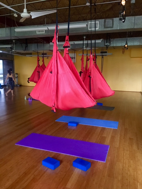 aerial yoga houston heights
