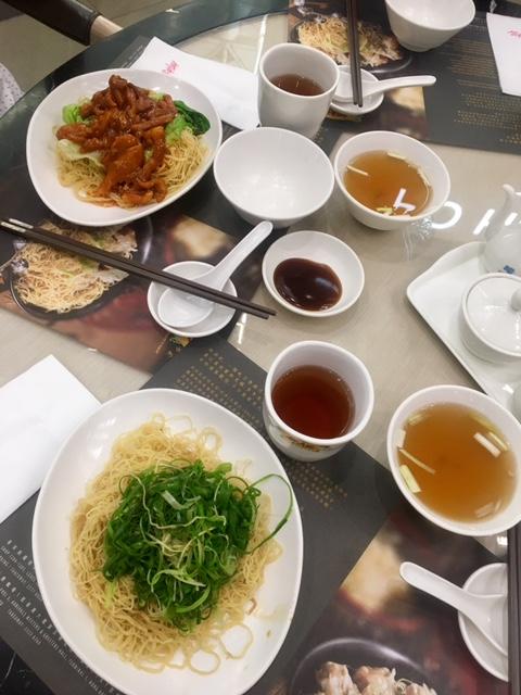 Hong Kong Airport Food
