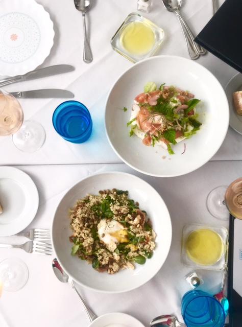 Cafe Azur Dinner Menu