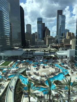 How to Get Into the Marriott Marquis Texas Pool
