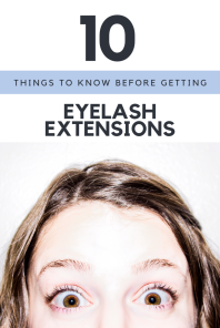 Turns out, I was ill prepared for my first set of fake eyelashes. Here's how to better prepare. // @itsnothouitsme // itsnothouitsme.com