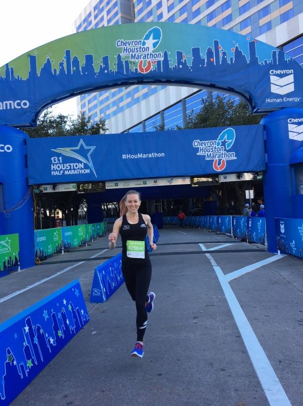 why run the houston marathon