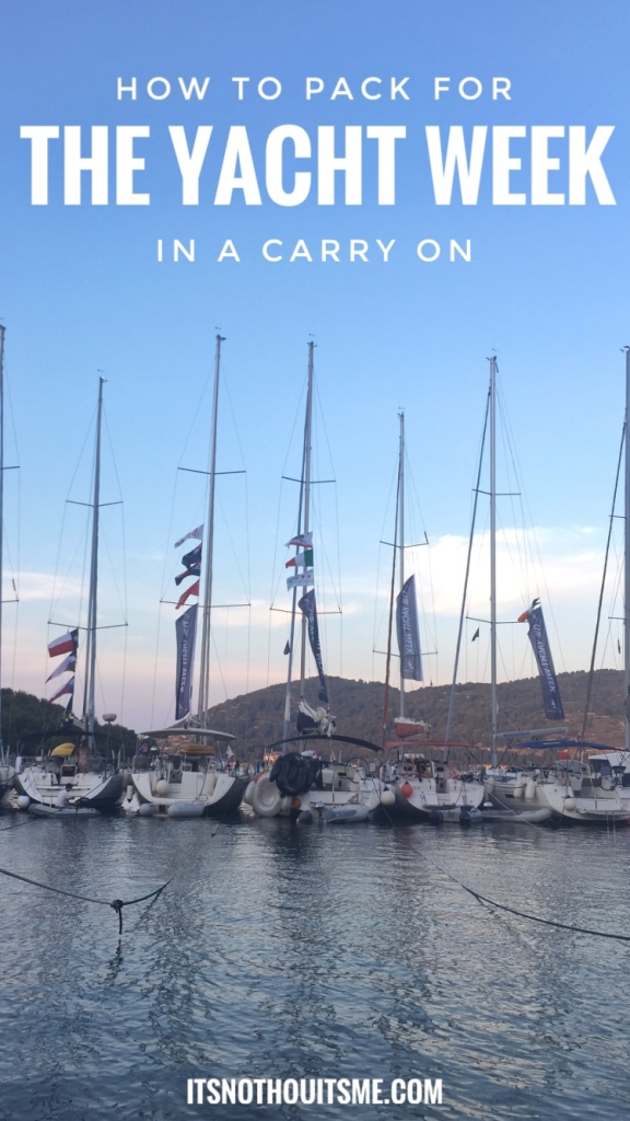 The Yacht Week, Croatia // How to Pack for the Trip of a Lifetime