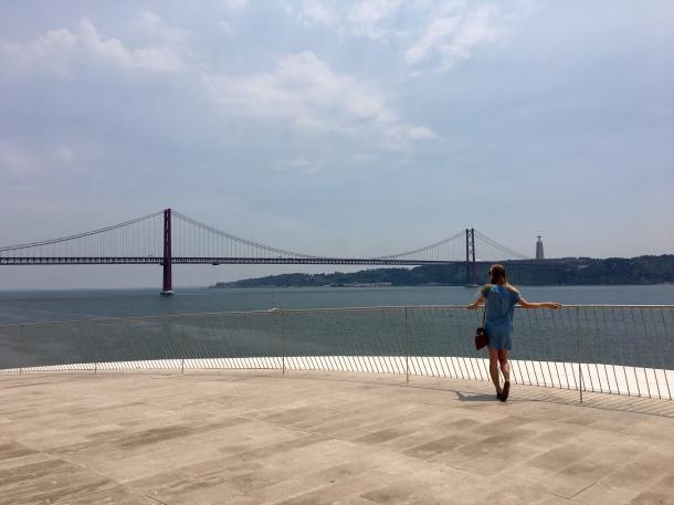 rooftop of MAAT lisbon portugal art summer