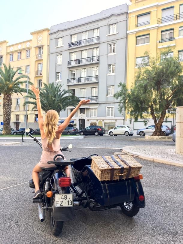 lisbon moto side car tour hotel ritz