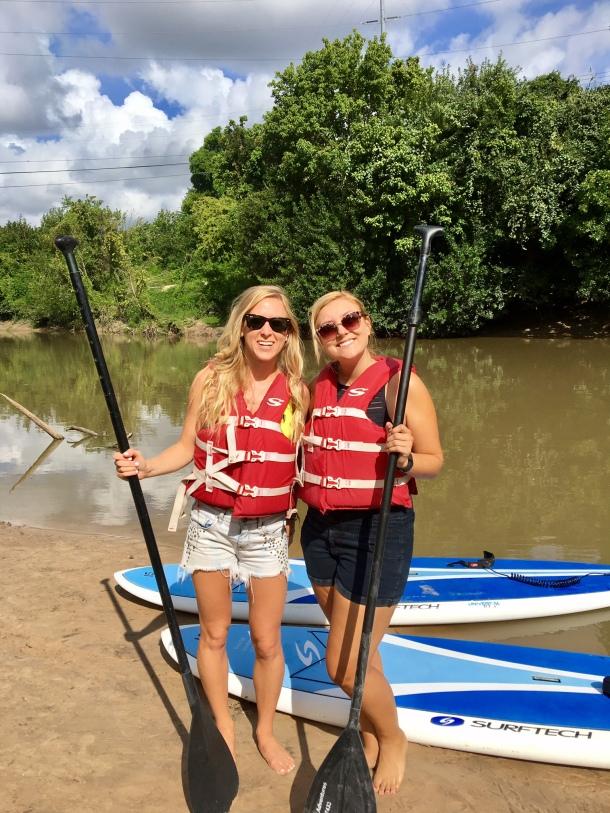 paddle boarding Houston SUP