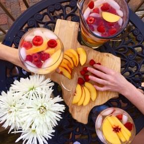 3 Ways to Enjoy Peach RaspberrySangria