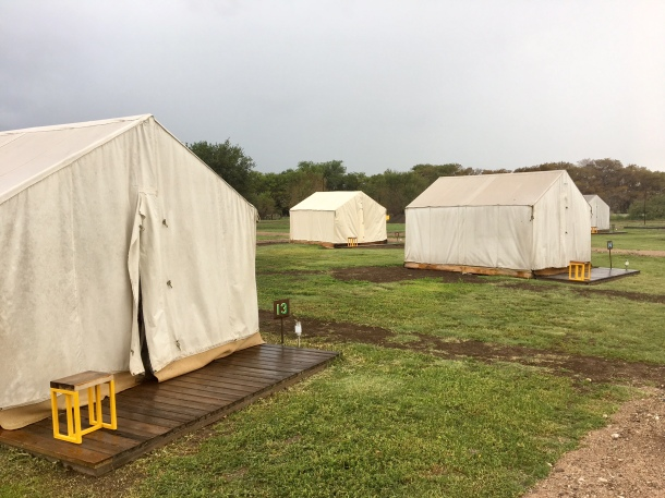 el cosmico safari tent