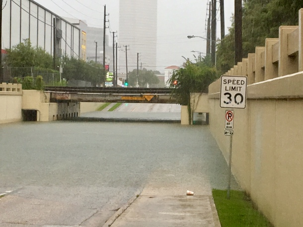 Houston Flooding Harvey Heights Yale I10