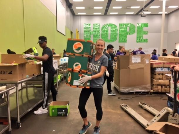 volunteer houston food bank