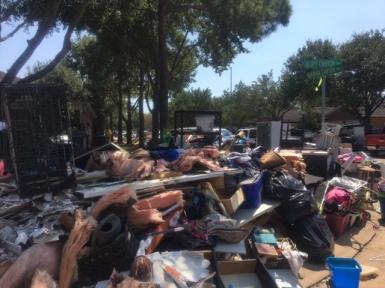 Muck Houston Homes Hurricane Harvey