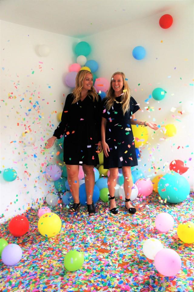 blogger birthday houston confetti