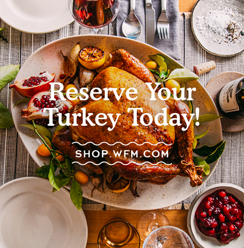 Whole Foods Reserve A Turkey