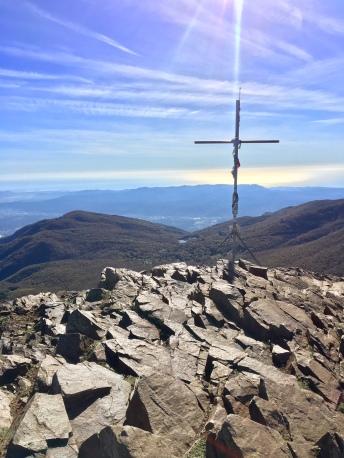 Hiking Montseny Santa Fe Trail