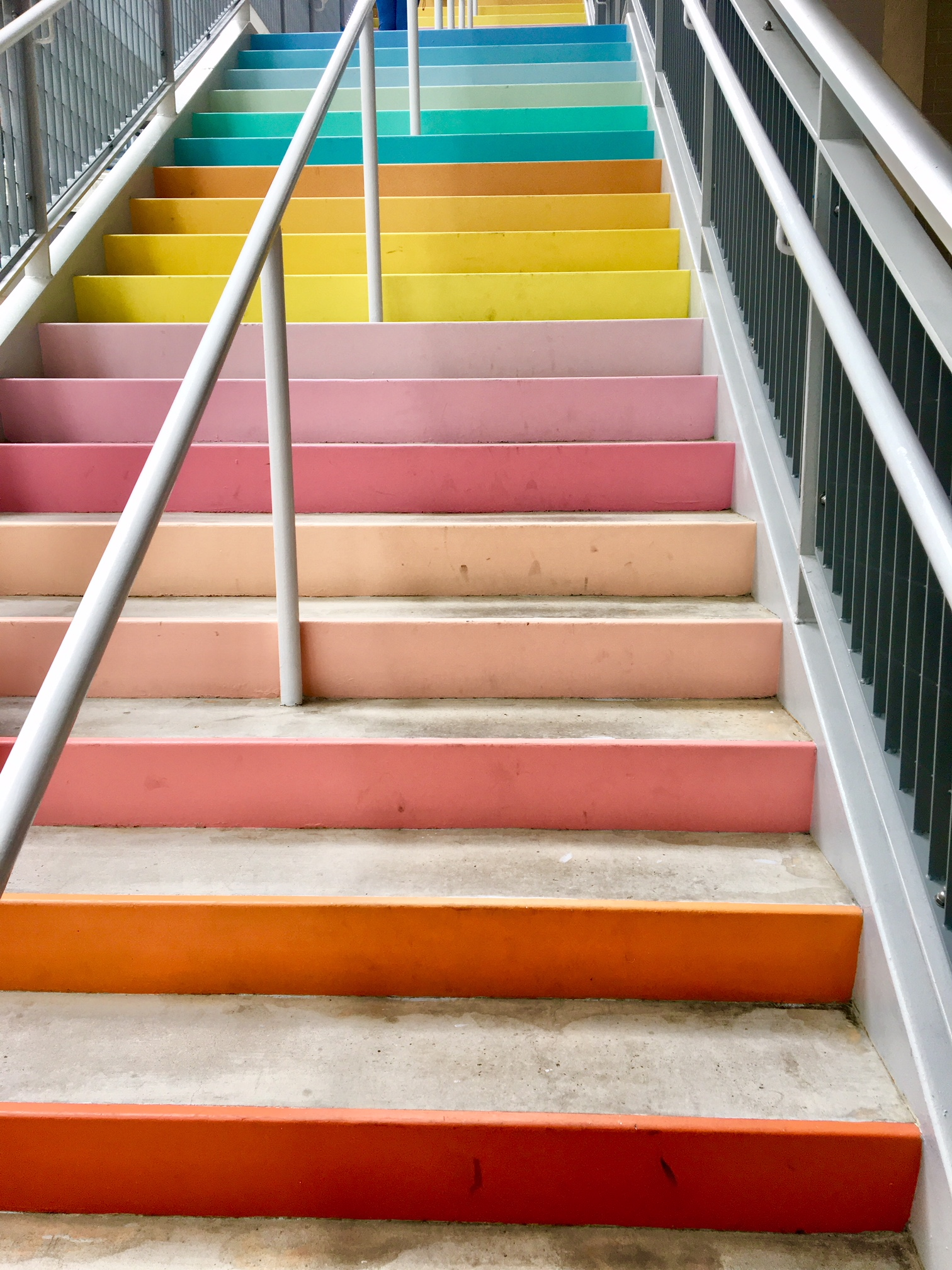 Gentil Sugar And Cloth Color Wall Stairs Houston ...