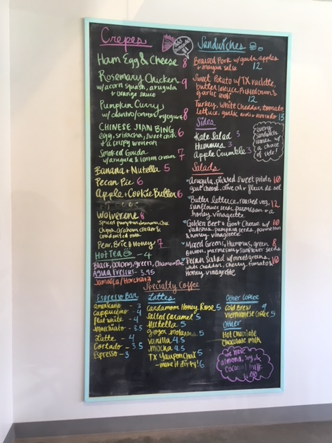 melange creperie menu houston heights