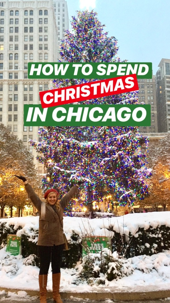 A Christmas weekend guide to: Chicago // It's Not Hou It's Me
