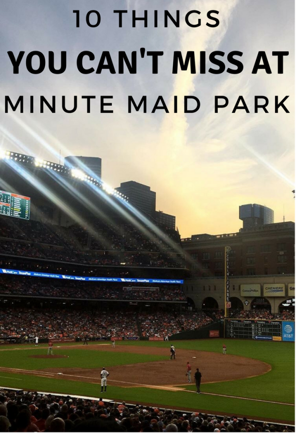 10 Things You Cant Miss At An Astros Game At Minute Maid Park