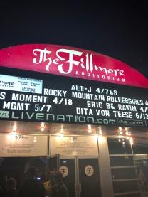 Denver-the filmore