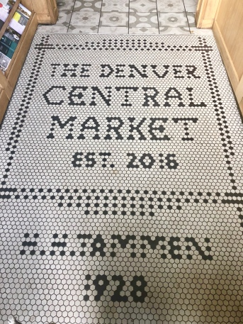 the Denver Central Market