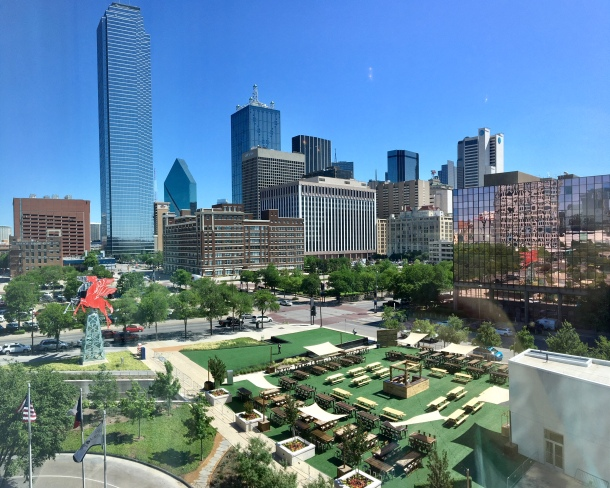 Dallas Omni pool and spa