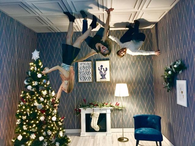 TFTI Houston Photo Upside Down Christmas