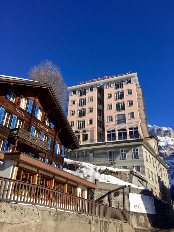 hotel spinne grindewald switzerland
