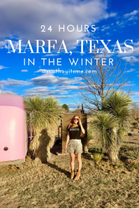 Marfa in Winter travel guide