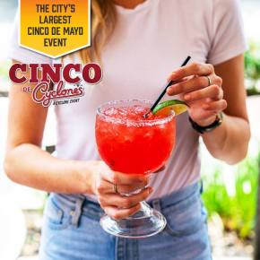 10 Reasons to Fiesta at Cyclone Anaya's for Cinco de Mayo
